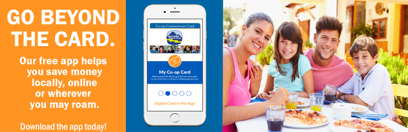 Go beyond the card! Download the Co-op Connections app today!